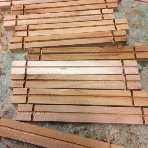 Cedar wood frames
