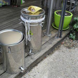 filters & settling tanks ready